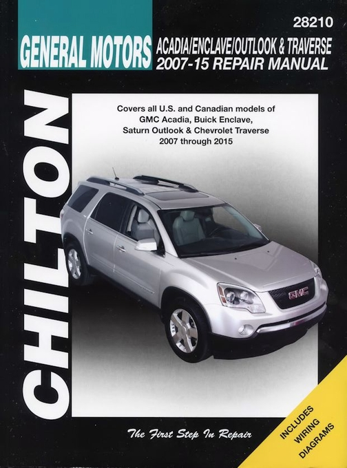 chevy traverse owners manual 2015