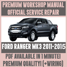 1999 ford ranger factory service manual