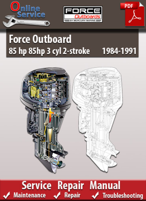 1989 85 hp force owners manual