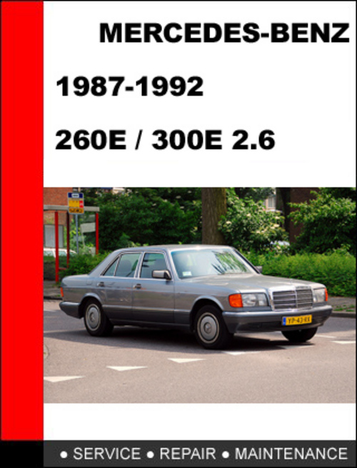 1992 mercedes benz 300e owners manual