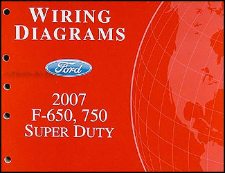 2007 ford f650 owners manual