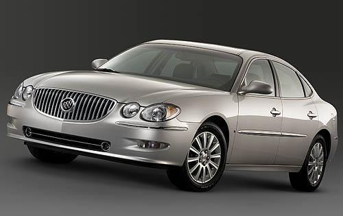 2009 buick allure owners manual