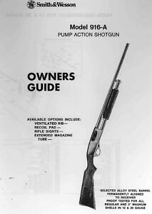 smith and wesson model 457 owners manual
