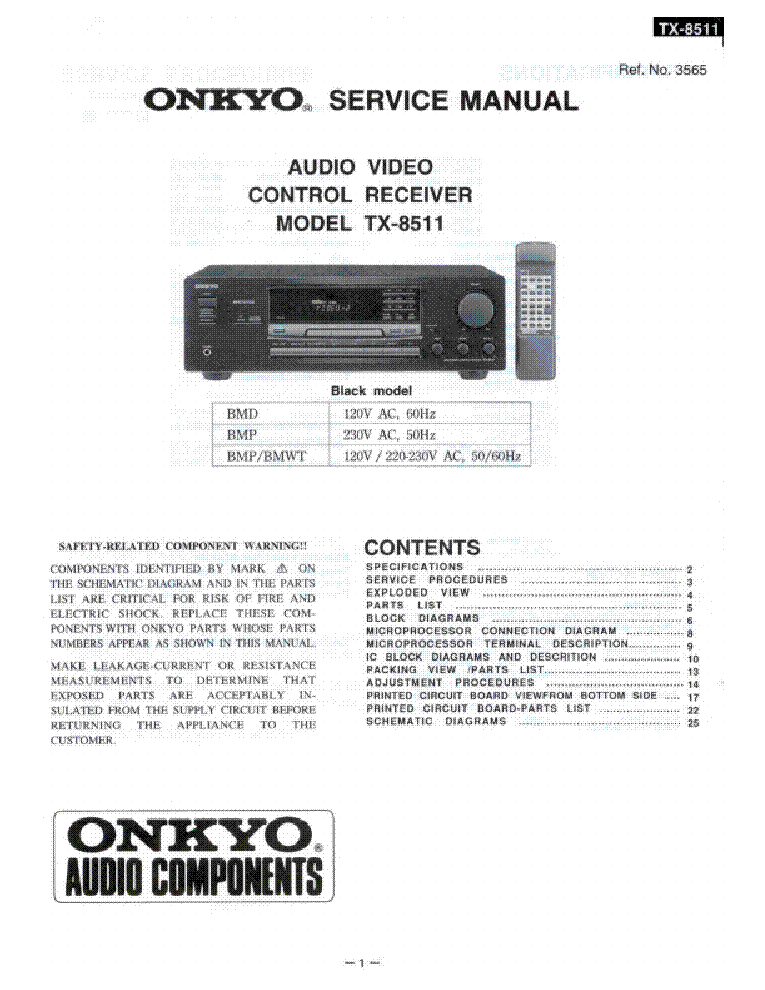 onkyo tx sv717pro owners manual