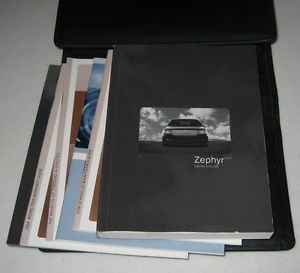 06 lincoln zephyr owners manual