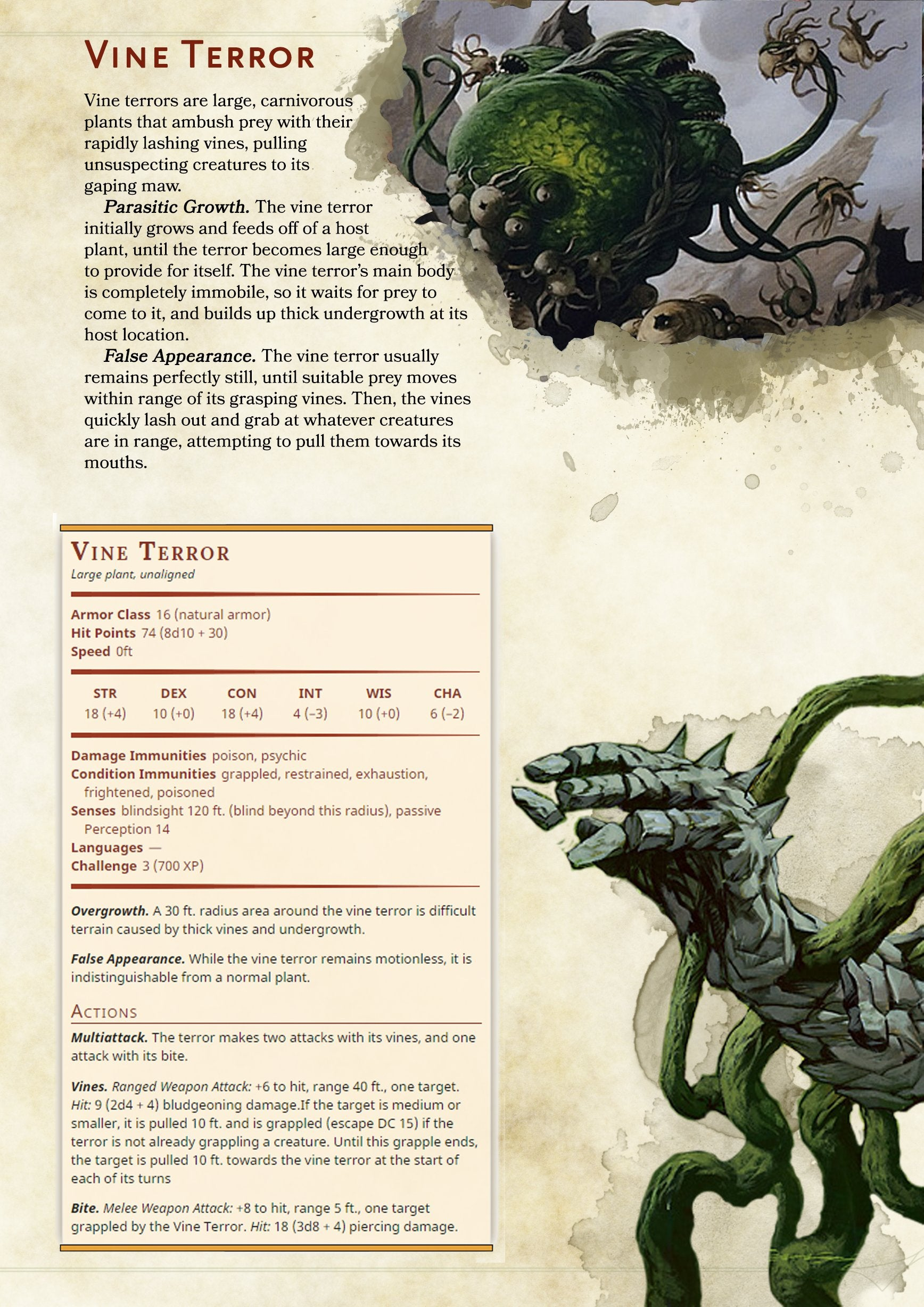 1 2 level monster manual 5th edition d&d encounter
